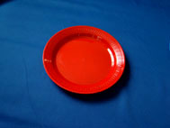 Plate Red