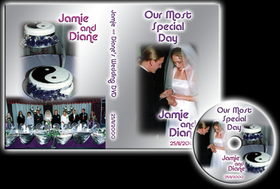 Jamie & Diane's Wedding DVD